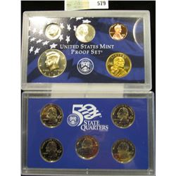2006 S U.S. Proof Set, Original as issued. A nice attractive set with all coins exhibiting Cameo Fro