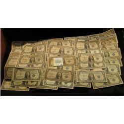 Series (5) 1935A, (4) 35E, (25) 1957, (7) 57A & (11) B (one of which is a Star Note) U.S. One Dollar