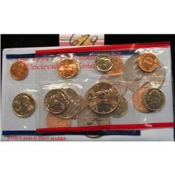 1994 U.S. Mint Set. Original as issued. U.S. Mint issue price was $8.00.