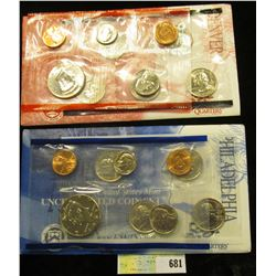 1999 P & D U.S. Mint Set. Original as issued. U.S. Mint issue price was $14.95.