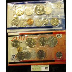 2001 P & D U.S. Mint Set. Original as issued. U.S. Mint issue price was $14.95.