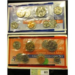 2002 P & D U.S. Mint Set. Original as issued. U.S. Mint issue price was $14.95.