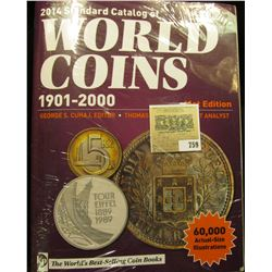 "2014 ""Standard Catalog of World Coins 1901-2000"" 41st Edition. Hundreds of pages of valuable informa"