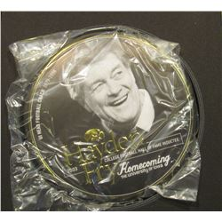 "Original in box ""Hayden Fry 2003 College Football Hall of Fame Inductee Homecoming 2003 Hayden Fry C"