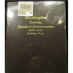"New Dansco Album ""Washington Quarters Statehood Commemorative 2004-2008 Including Proof""."