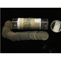 "Roll of (40) Mixed Date Liberty Head ""V"" Nickels."