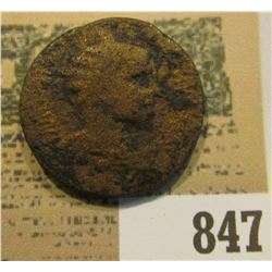 Bronze AE 25 of Gordian III, A.D. 238-244, Antioch, Pisidia. Rx. CAES ANTIOCH COL, Vexilium between