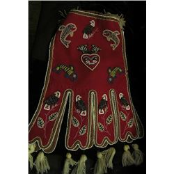 Octopus North West Native American Indian Beaded Bag. Doc's tag on this one looks like he raised the