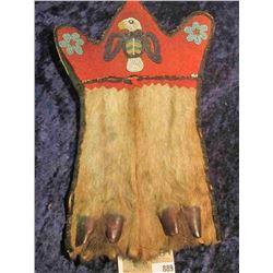 Deer Hoof Medicine Bag used by the Deer Clan (Family) of the Mesquakie Indian. The Deer Clan died ou