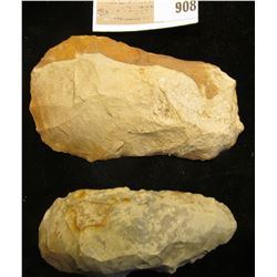 Native American Stone Celt & Hoe found in Scotland County, Mo. by Aaron Camp.