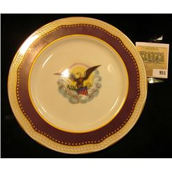 """""""Whitehouse Dessert Collection This dessert plate has been authentically re-created from the White H"""