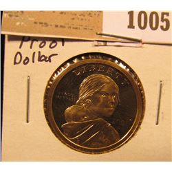 1005 _ 2002 S Native American Proof 65+ Dollar.