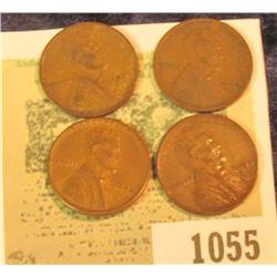 1055 _ 1909 P VDB Fine; 28D VG, 32P Fine, & 54 S VF Lincoln Cents.