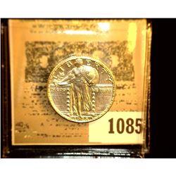1085 _ 1928 P Standing Liberty Quarter, UNC