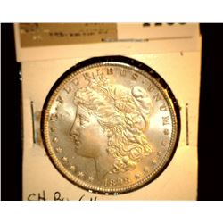 1109 _ 1898 P Morgan Silver Dollar, Choice BU 64