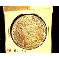 1114 _ 1902 O Morgan Silver Dollar, Choice BU 64