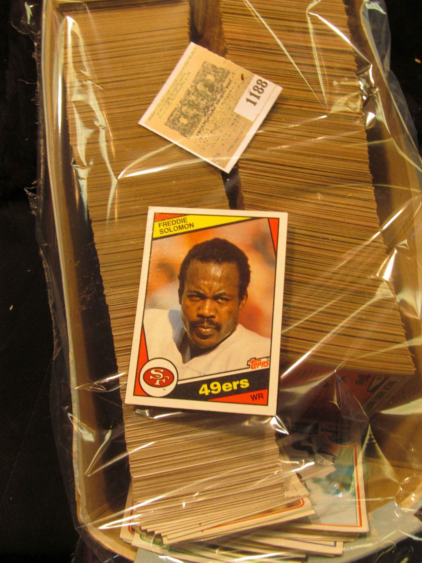 1188 Shoe Box Of 1980 Topps Era Baseball Cards Which I Did Not Have Time To Sort