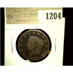 1204 _ 1819 U.S. Large Cent, AG.
