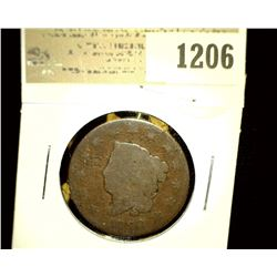1206 _ 1820 U.S. Large Cent, AG.