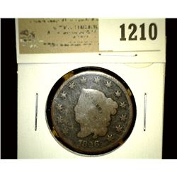1210 _ 1826 U.S. Large Cent, G.