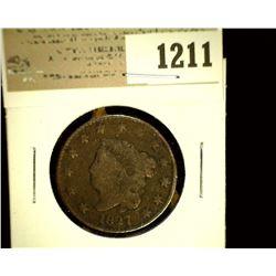 1211 _ 1827 U.S. Large Cent, G.