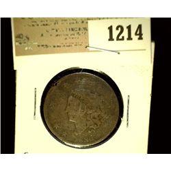 1214 _ 1830 U.S. Large Cent, Large letters, G.
