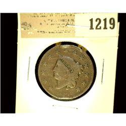 1219 _ 1832 U.S. Large Cent, VG.