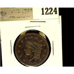 1224 _ 1836 U.S. Large Cent, VG.