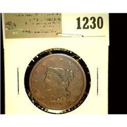 1230 _ 1840 U.S. Large Cent, Very Good 10,
