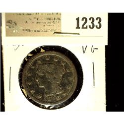 1233 _ 1846 U.S. Large Cent, Very Good,