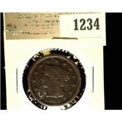 1234 _ 1846 U.S. Large Cent, Fine.