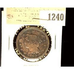 1240 _ 1849 U.S. Large Cent, Fine