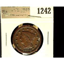 1242 _ 1850 U.S. Large Cent, Fine