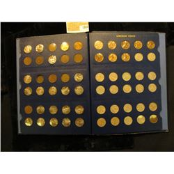 1322 _ 1941-74 S Complete Set of Lincoln Cents stored in a Deluxe Whitman album, many of the Uncircu