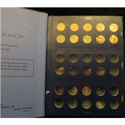 "1325 _ Deluxe Whitman ""Cents Miscellaneous"" Album with (10) Lincoln Cents dating 1975-79D, some wrap"