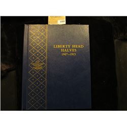"1459 _ Used and empty Deluxe Whitman Album ""Liberty Head Halves 1907-1915"". No coins."