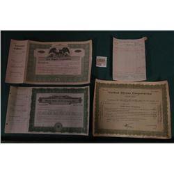 """1587 _ Unissued Stock Certificate """"Braender Rubber & Tire Company, Inc.""""; Unissued Stock Certificate"""