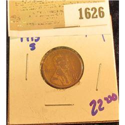 1626 _ 1915-S SEMI KEY DATE INDIAN HEAD CENT
