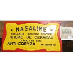 "1646 _ ""Nasaline Meilleur Remede Contree Rhume De Cerveau & Maux de Tete Anti-Coryza en vente ici"" S"