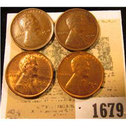 1679 _ (2) 1914P Fine, 41 D Unc, & 1941 S Unc Lincoln Cents.