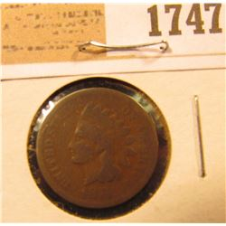 1747 _ 1874 U.S. Indian Head Cent.