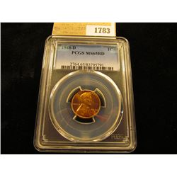 1783 _ 1948 D Lincoln Cent, PCGS slabbed MS65RD.