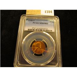 1784 _ 1948 S Lincoln Cent, PCGS slabbed MS65RD.