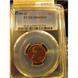 1790 _ 1956 D Lincoln Cent, PCGS slabbed MS65RD.