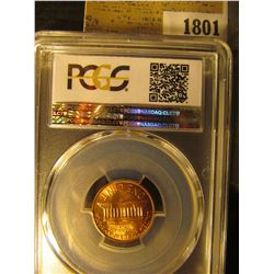 1801 _ 1960 P Large Date Lincoln Cent, PCGS slabbed MS65RD.