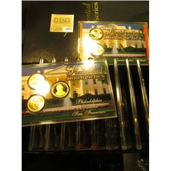"1822 _ 12-case Set ""Presidential Dollar Series"" Contains thirty different Dollar coins. Includes (5)"
