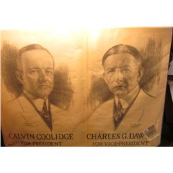 "1891 _  ""Calvin Coolidge For President Charles G. Dawes  For Vice-President"" & 1936 Campaign Poster"