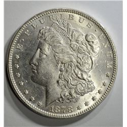 1878 7TF MORGAN DOLLAR  CH BU