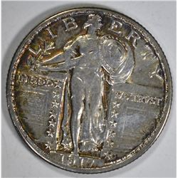 1917 STANDING LIBERTY QUARTER  TYPE 2