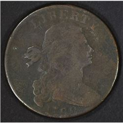 1798 2ND HAIR STYLE DRAPED BUST LARGE CENT